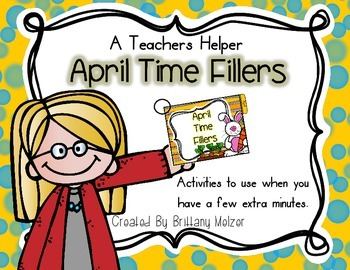 April Time Fillers