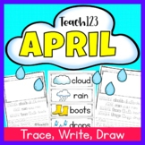April Trace Write Draw