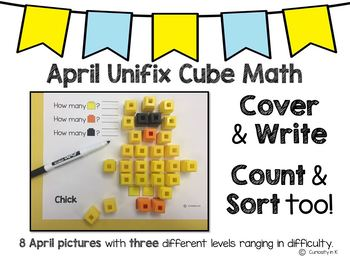 April Unifix Cube Math