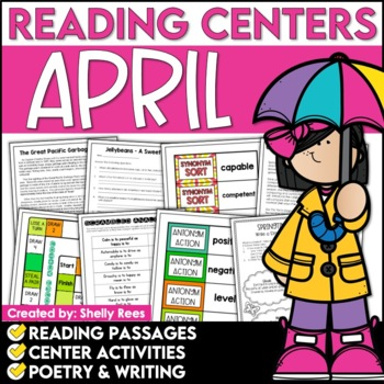 Reading Comprehension Passages and Questions - April Reading Unit