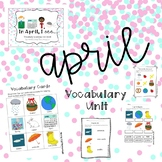 April Vocabulary Unit