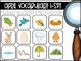 April Vocabulary {Vocabulary Cards, Mini-Reader, Activities}