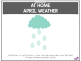 April Weather Distance Learning Freebie