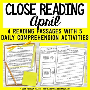 Close Reading - April