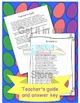 Spring Activities-Word of the Day April Cut and Paste