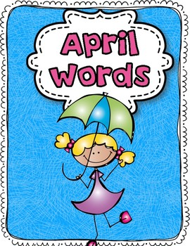 April Word Bank-Visual Style:)