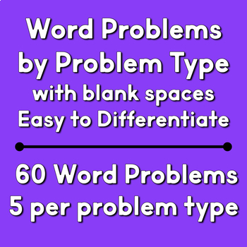 April Word Problems | Spring Word Problems | Addition & Subtraction