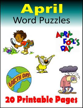 April Word Puzzles