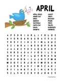 April Word Search