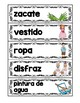 April Word Wall Words-Spanish Edition