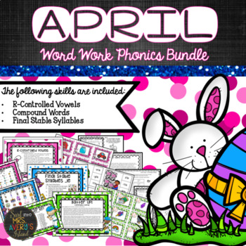 April Phonics Bundle