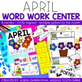 April Word Work Center