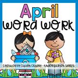 Word Work: April