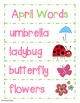 April Words