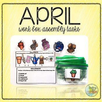 April Work Box Assembly Tasks