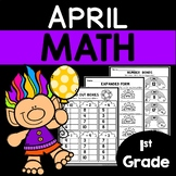 April Worksheets | 1st Grade Math Worksheets | Math Packet