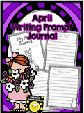 April Wriing Prompts Journal