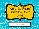 April Write/Count the Room