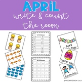 April Write & Count the Room