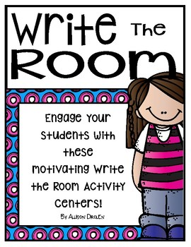 April Write the Room For OLDER and Younger Students