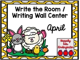 April Write the Room - Writing Wall Center