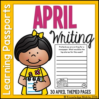 April Writing Prompts - Learning Passport
