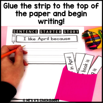April Writing Activity: Interactive Sentence Starters