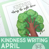 Kindness Activities | Kindness Poster | April | Earth Day Writing Activities