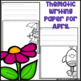 April Writing Activity: Thematic Writing Paper