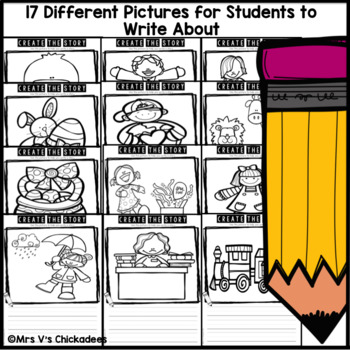 April Writing Activity: Using Pictures to Write a Story