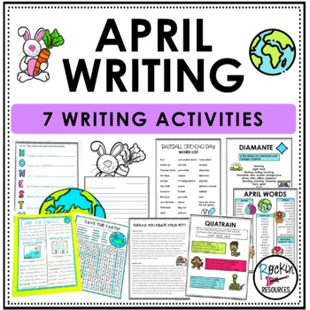 April Writing Bundle