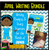 April Writing Bundle (Conversation Starters, Morning Meeti