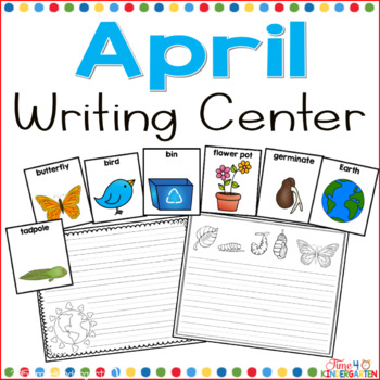 April Writing Center for Kindergarten and First Grade