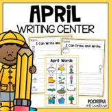 April Writing Center #kinderfriends