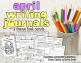 April Writing Journal and Task Cards