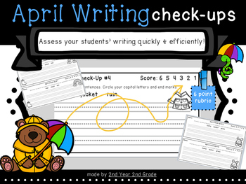 April Writing Check