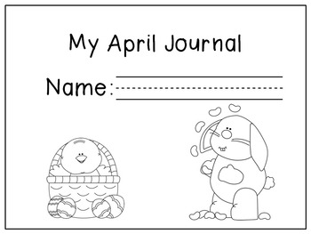 April Writing Activities / April Journal