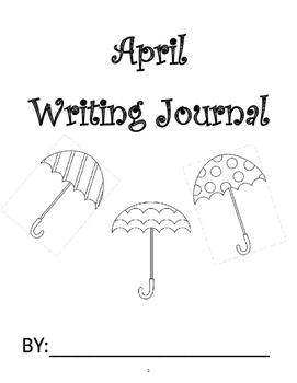 April Writing Journal