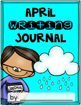 April Writing Journal {3 different levels}