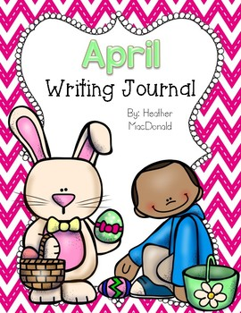 April Writing Journal Covers
