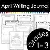 April Writing Journal with Prompts