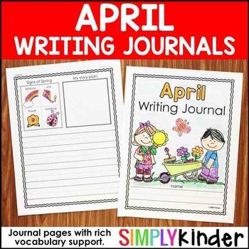 April Writing Journals