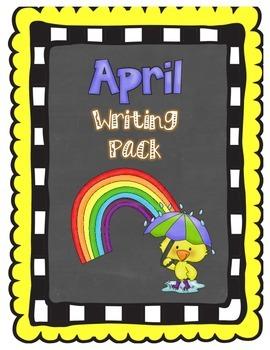 April Writing Pack