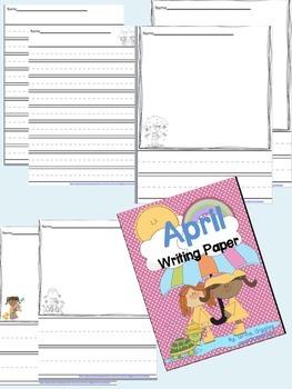 April Writing Paper Pack