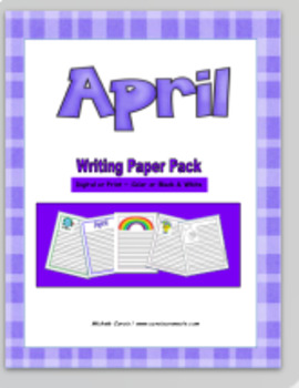 April Writing Paper Pack