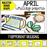 April Writing Papers and Bulletin Board Ready