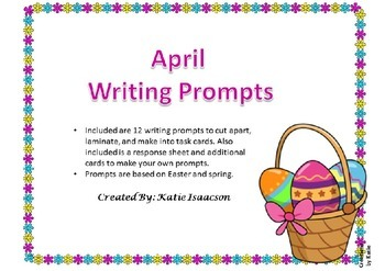 April Writing Prompts