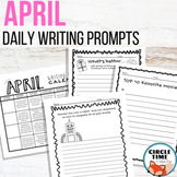 April Writing Prompts Spring NO PREP Daily Journal