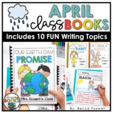 April Writing Prompts & Class Book Covers