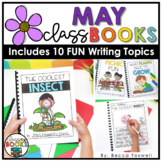 May Writing Prompts & Class Book Covers